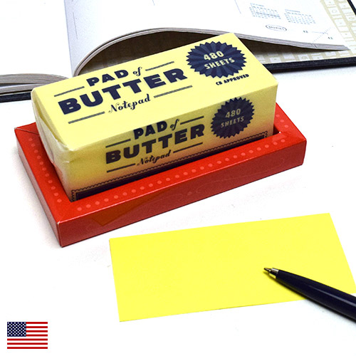 画像1: CHRONICLE BOOKS クロニクルブックス バター メモブロック 【標準小売価格:1,200円(税抜)】