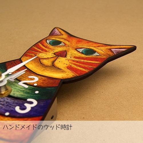 画像4: 猫の掛け時計 RAINBOW 【標準小売価格:7500円(税抜)】