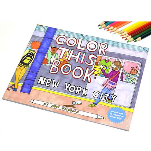 画像1: croniclebooks クロニクルブックス ニューヨーク カラーリングブック 【標準小売価格:1,200円(税抜)】