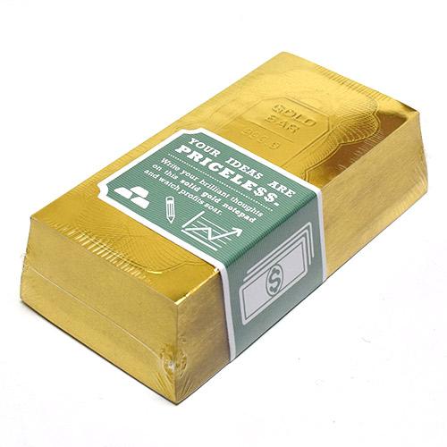 画像1: croniclebooks クロニクルブックス ゴールドスタンダード メモブロック 【標準小売価格:1,080円(税抜)】