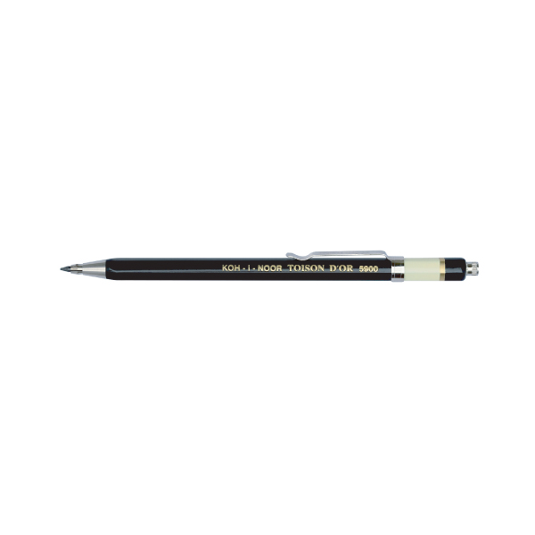 画像1: KOH-I-NOOR コヒノール No.5900 プロペリングペンシル 2.0mm 【標準小売価格:750円(税抜)】
