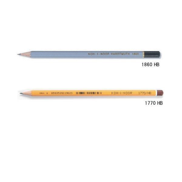 画像1: KOH-I-NOOR コヒノール 鉛筆 HB 【標準小売価格:80円(税抜)】