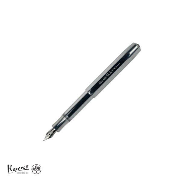 画像1: KAWECO カヴェコ アルスポーツ 万年筆(M) アルミ 【標準小売価格:8,500円】 (1)