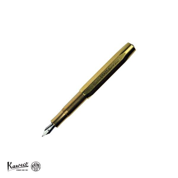 画像1: KAWECO カヴェコ ブラススポーツ 万年筆(M) 【標準小売価格:10,000円】 (1)
