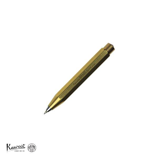 画像1: KAWECO カヴェコ ブラススポーツ 0.7mm ペンシル 【標準小売価格:9,000円】 (1)