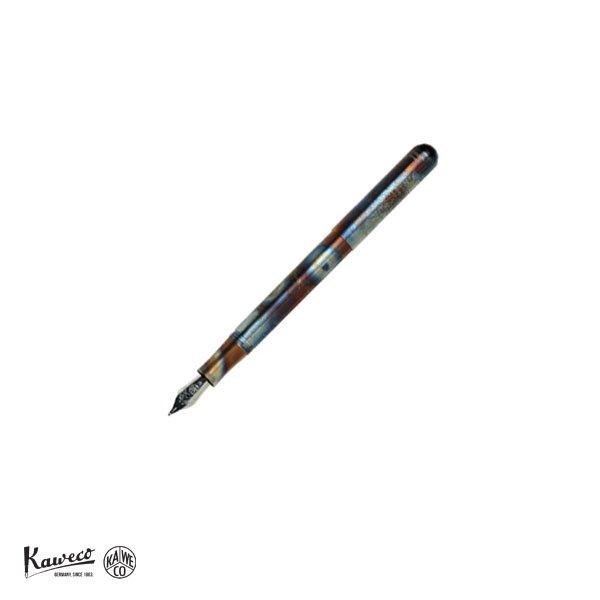 画像1: KAWECO カヴェコ リリプット 万年筆 ファイヤーブルー 【標準小売価格:18,000円】 (1)