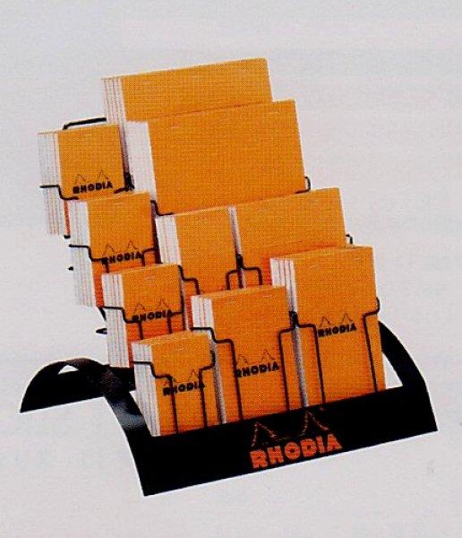 画像1: RHODIA ロディア ブロックロディア (オレンジ/方眼) 【定番什器セット】 (1)