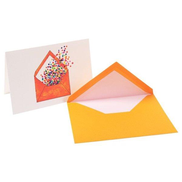 画像1: G.LALO アンクル&プリュム カード封筒セット オレンジ 【標準小売価格:600円】 (1)