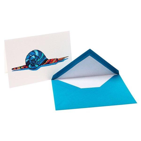 画像1: G.LALO アンクル&プリュム カード封筒セット エメラルド 【標準小売価格:600円】 (1)