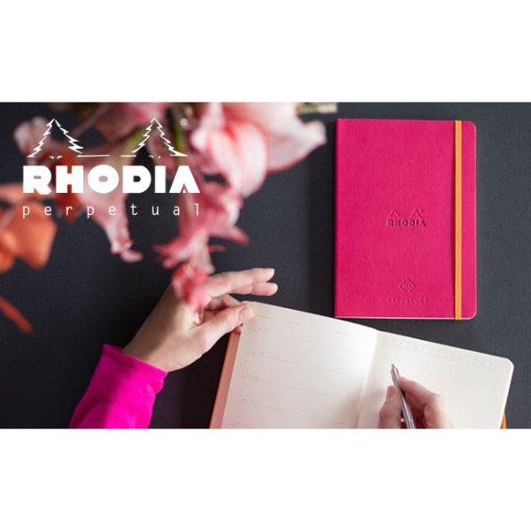 画像1: RHODIA ロディア ロディアラマ perpetual notebook パーペチュアルノートブック A5【標準小売価格:2,500円】 (1)