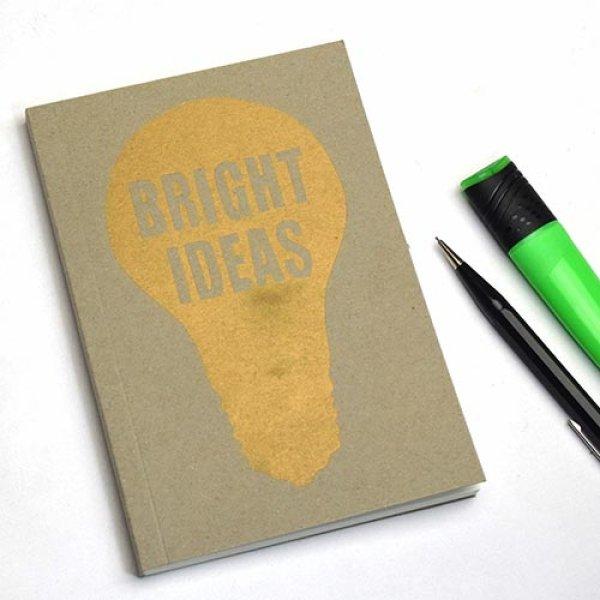 画像1: SUKIE スーキー レタープレス ノート [ BRIGHT IDEAS ( ブライトアイデア ) ]【標準小売価格:2,400円】 (1)