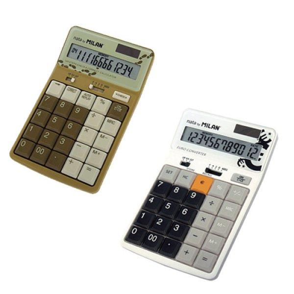 画像1: MILAN ミラン 12桁電卓 テンキー【標準小売価格:3,000円】 (1)