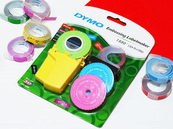画像1: DYMO ダイモ ラベル テープライター M1880  【標準小売価格:2,400円】 (1)