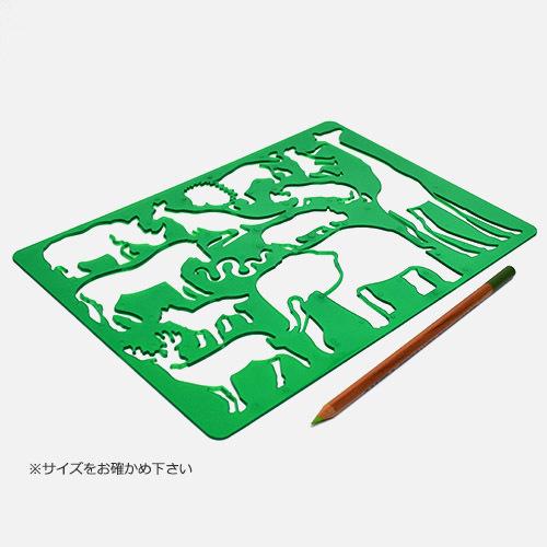 画像3: 【柄追加】KOH-I-NOOR コヒノール ドローイングテンプレート 【標準小売価格:300円(税抜)】